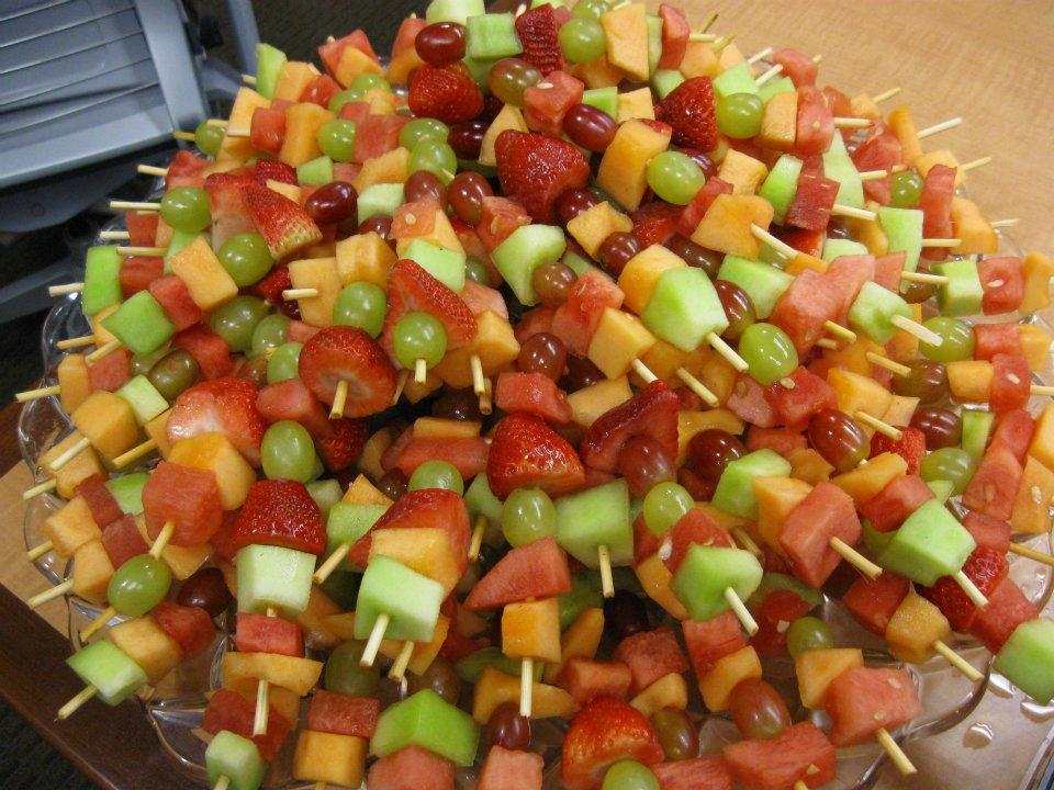 Fruit Kabobs - BiteSize Catering